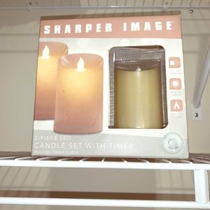 Sharper Image LED Flameless Candle Set (2)